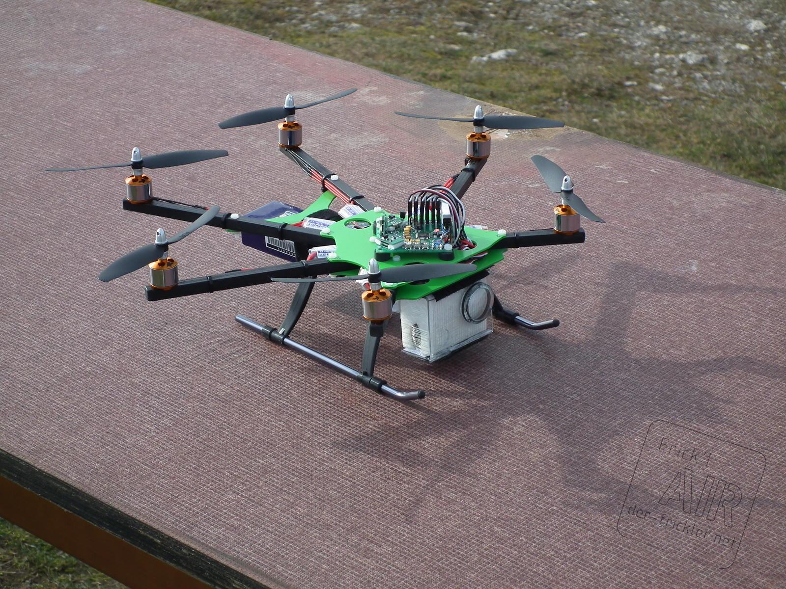FPV Hexacopter [der-frickler.net]
