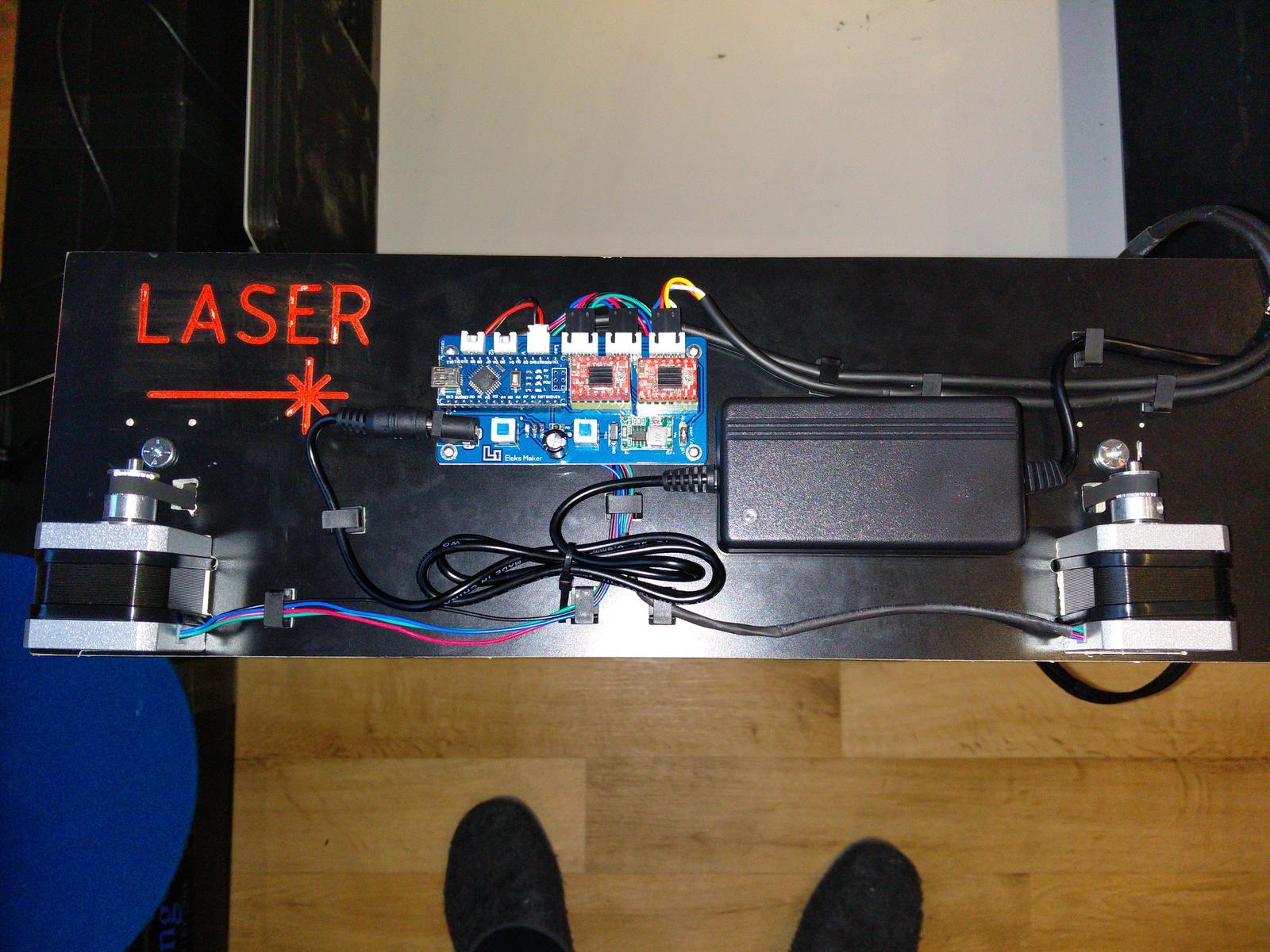 Cnc Laser Gravierer Der Frickler Net